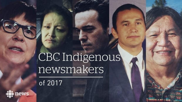 The top Indigenous newsmakers of 2017.