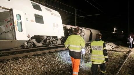 Austria Train Crash