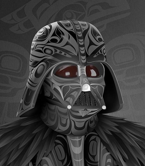 Darth Vader Raven
