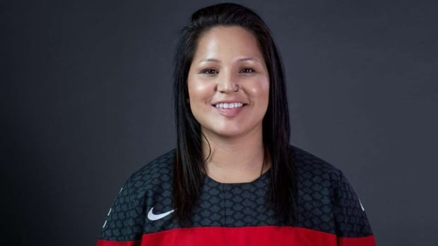 Brigette Lacquette, 25, is a member of Cote First Nation in Saskatchewan. Lacquette is the 1st First Nations woman athlete to ever be selected for Canada's women's Olympic hockey team. She says watching Nunavut's Jordin Tootoo play for Team Canada in the 2003 World Junior Championships was an inspiration.