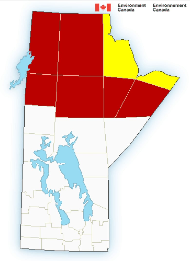 Winter Storm Warning Bring It On Says >> Plunging Temperatures In Northern Manitoba Bring Extreme Cold