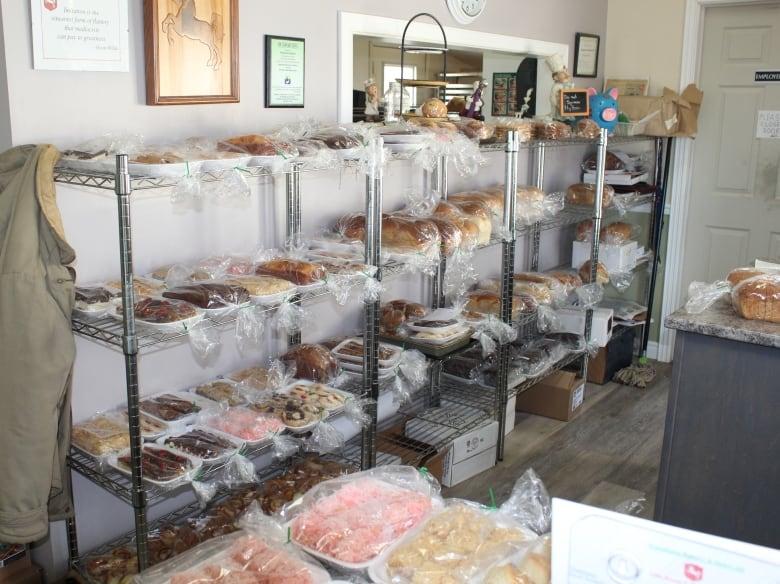 New Brunswick Mocha Cakes