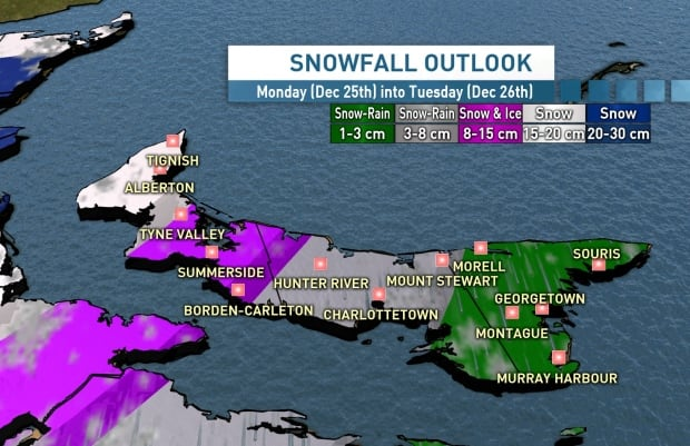 Up to 20 cm of snow expected across GTA on Christmas Eve