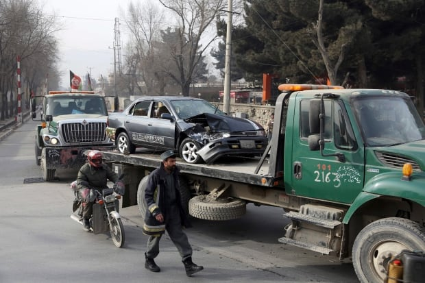 8 killed in Afghan capital bomb attack