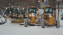 snow plows montreal christmas