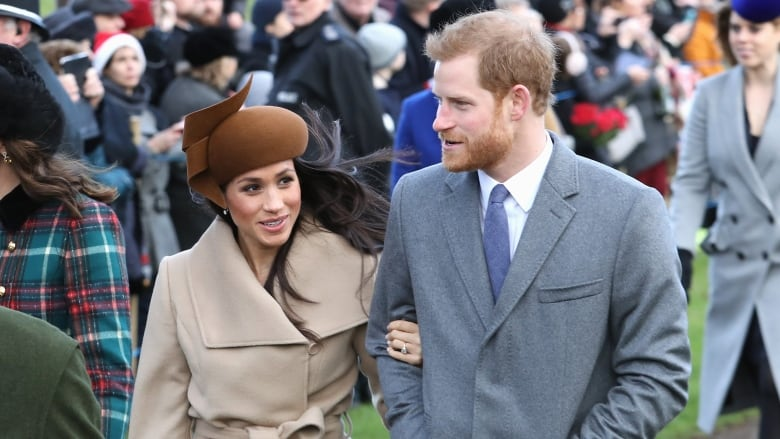 meghan markle and prince harry attend christmas day church service at st mary magdalene church in sandringham england they were joined by prince william