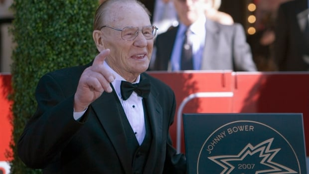 NHL Hall of Fame Goalie Johnny Bower Dies at Age 93