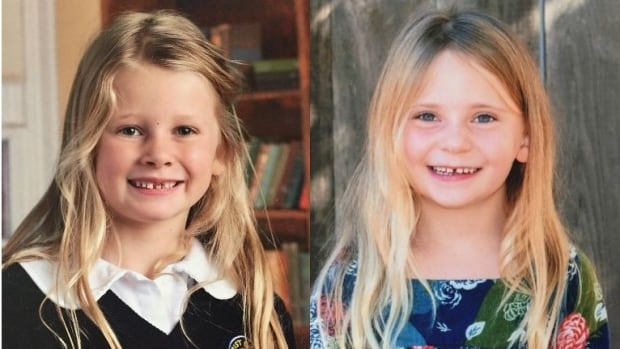 The bodies of six-year-old Chloe Berry, left, and her four-year-old sister Aubrey were found in an Oak Bay, B.C., apartment on Christmas Day.