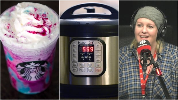 Our food guide, Julie Van Rosendaal, says she's not a big fan of instant pots and Starbucks Instagramable foods, such as its unicorn frappuccino.
