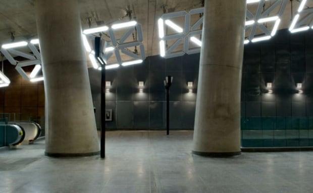 TTC subway art
