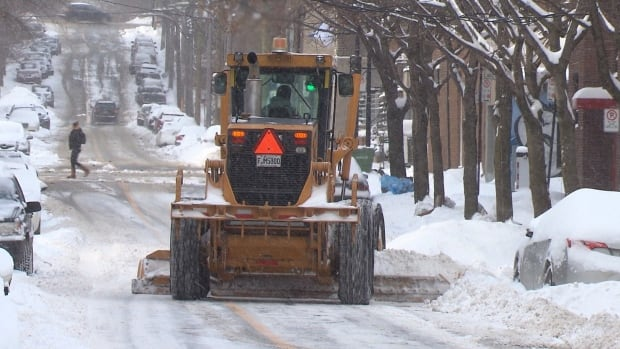 Snow removal is set to begin this evening, with the city advising residents to plan ahead and obey temporary parking signs.