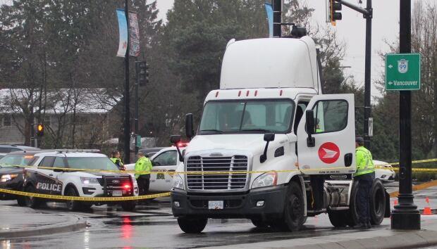 Pedestrian struck Richmond