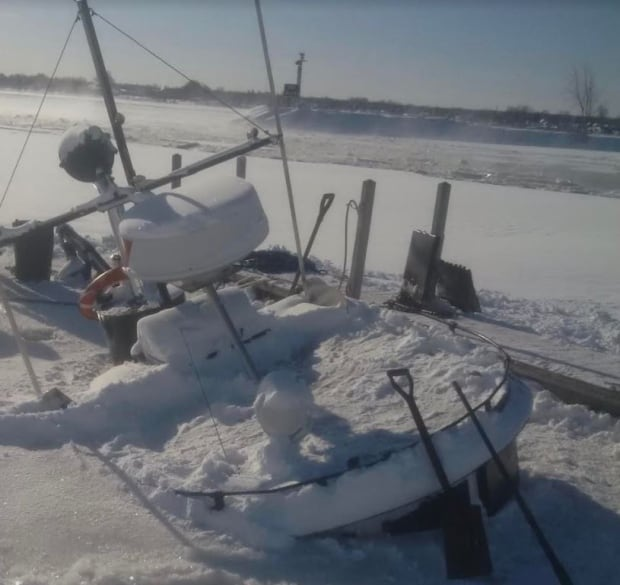 Ships Blocking St. Mary's River Now Freed From The Ice