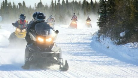 It is getting busier on New Brunswick's snowmobile trails
