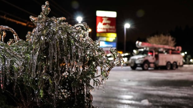 Thousands in the Fraser Valley still without power after ice storm