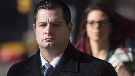 Toronto James Forcillo arrival at trial