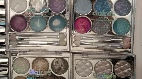 Claire's makeup