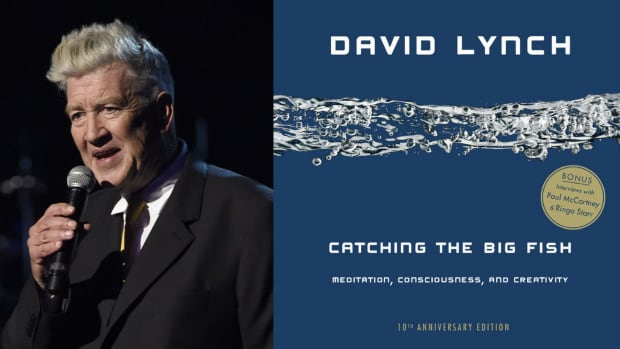 Why aaron and shawn karpinka find wrestling and meditation for David lynch catching the big fish