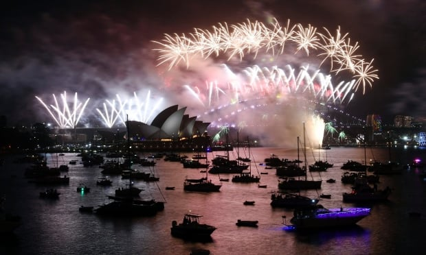 Revelers around the globe ring in 2018 amid heightened security