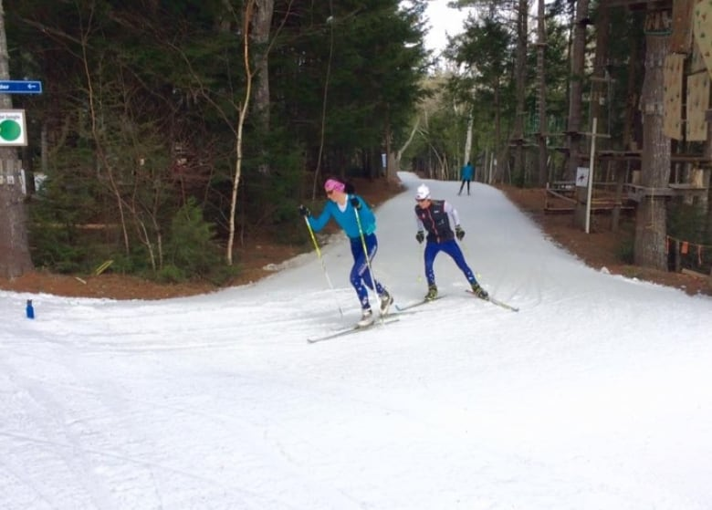Let it (man-made) snow: Cross-country ski club makes its own