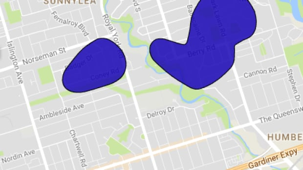 Toronto Hydro say they are working to restore power to about 1,200 customers in the Etobicoke area as a cold weather alert remains in effect for the city.