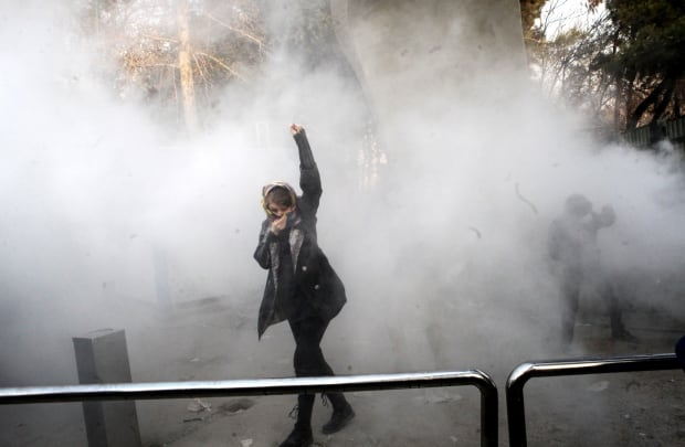IRAN ANTI GOVERNMENT PROTEST