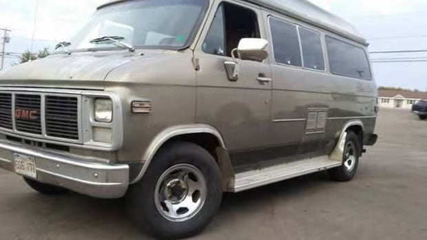 RCMP are asking for the public's help to find the person who stole this van in New Brunswick on Dec. 24. It was recovered the same day in P.E.I.