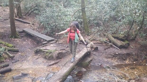 Irene MacAulay on Appalachian Trail