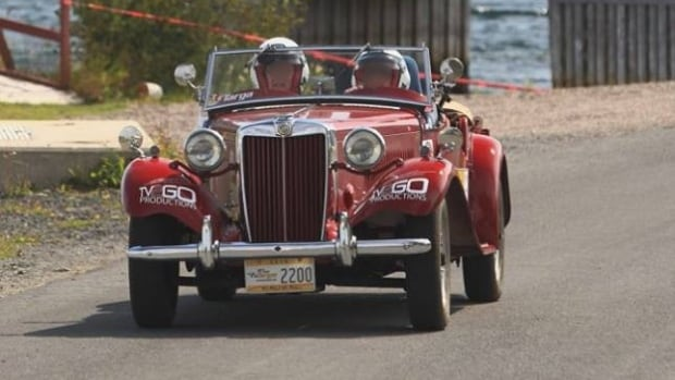 Vintage pre-1981 cars like this 1953 MG TD now have their own class in the Targa Newfoundland races.