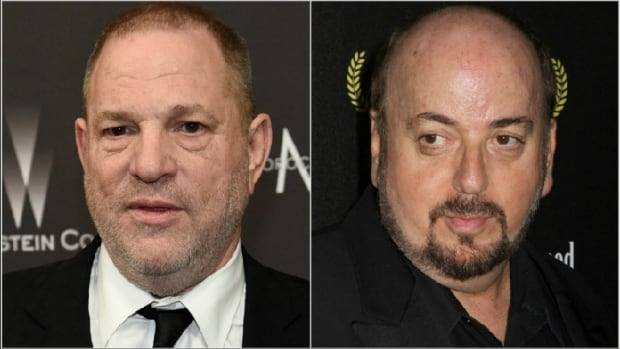 The Los Angeles County district attorney's office is reviewing cases brought against movie producer Harvey Weinstein, left, and writer-director James Toback after investigations by police in Los Angeles and Beverly Hills.