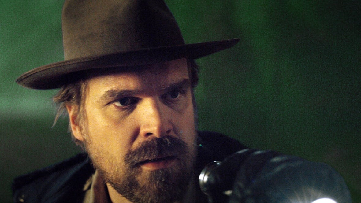 David Harbour on the Stranger Things phenomenon and his life-changing role