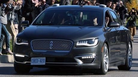 BlackBerry Autonomous Car Test 20171012