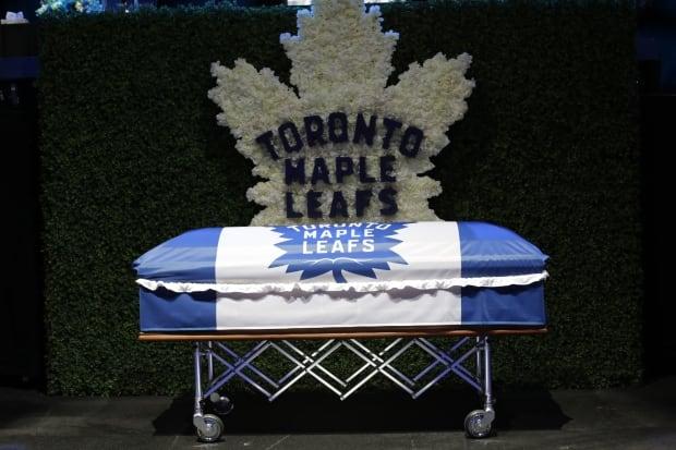 Johnny Bower Coffin