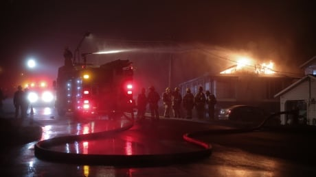 COQUITLAM GUILBY STREET HOUSE FIRE 1