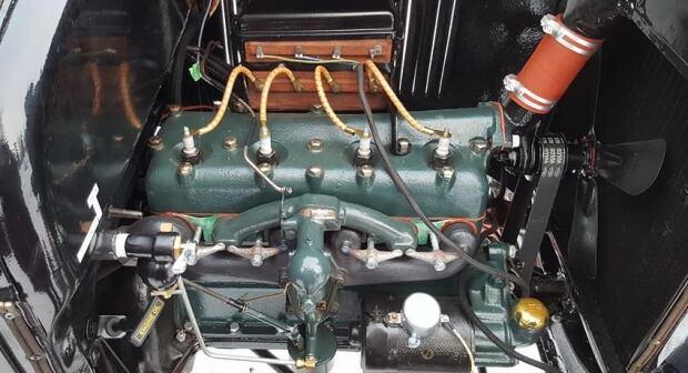 Model T inside