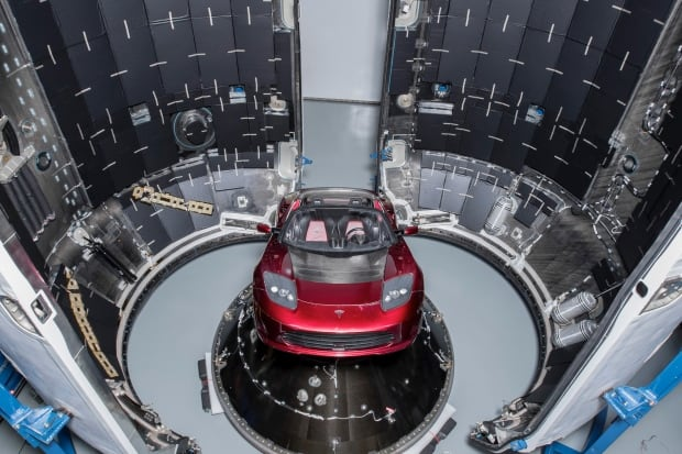 SpaceX Tesla Falcon Heavy payload