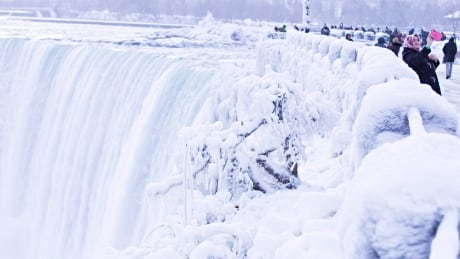 Cold Weather Niagara Falls 20171229