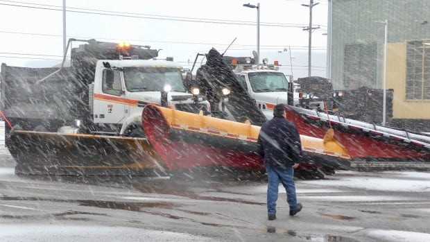 how to get a snow plow contract