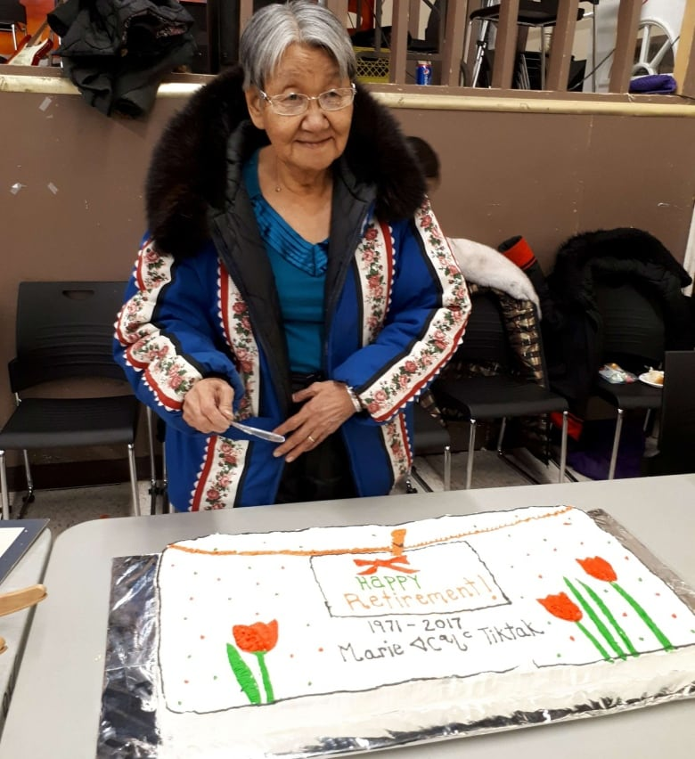 Grandmother retires after 47 years as an interpreter, X-ray technician in Nunavut