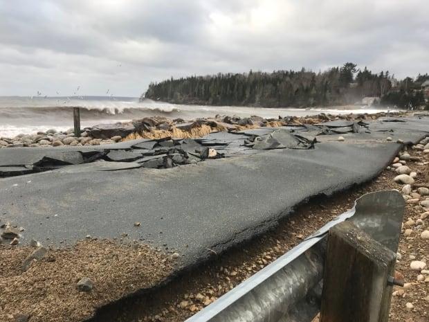 Queensland Beach Jan 2018 Nova Scotia storm