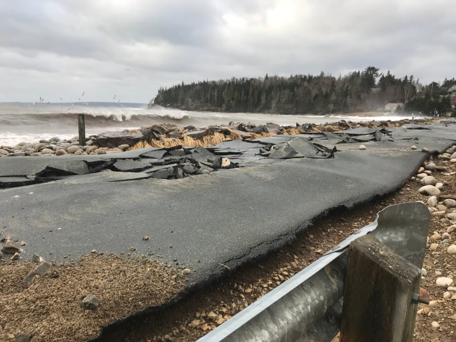 Queensland Beach Jan 2018 Nova Scotia storm