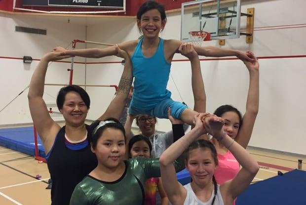 Rankin Inlet gymnasts