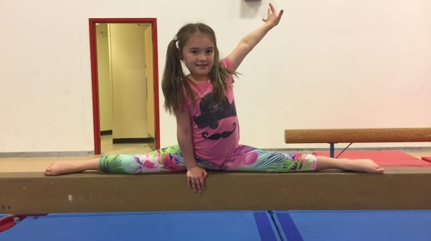 Rankin Inlet gymnast Chloe Stacey