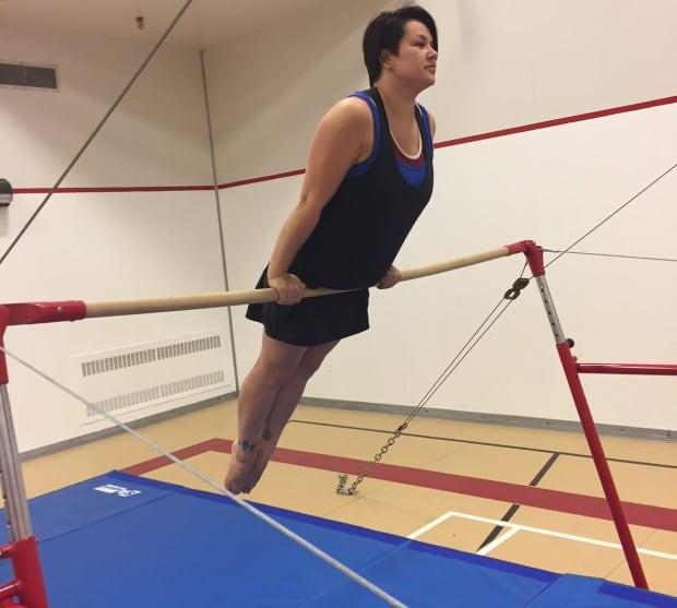 Rankin Inlet gymnast Inuujaq Fredlund