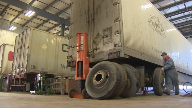 Employment in Edmonton is up, continuing a trend that started last January. At Edmonton's Gateway Trailer Repairs, business started to increase last October, and the company says it hasn't let up since.
