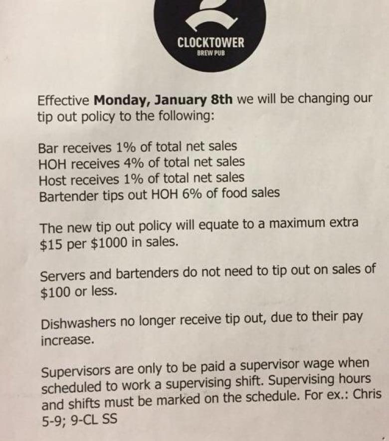 Ottawa Restaurants Split On Changing Tips Because Of New