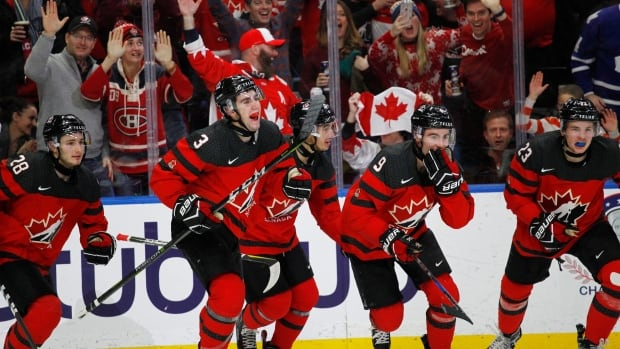 Tyler Steenbergen's late goal gives Canada gold at world juniors | CBC Sports