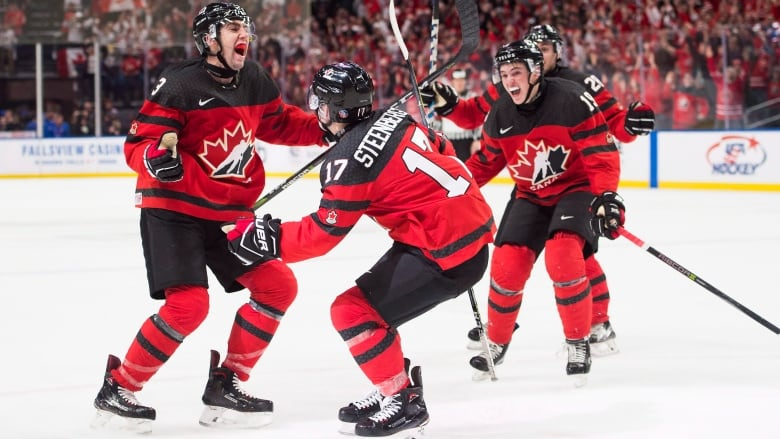 Tyler Steenbergen S Late Goal Gives Canada Gold At World Juniors