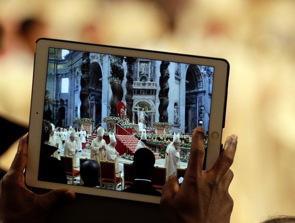 APTOPIX Vatican Pope Epiphany