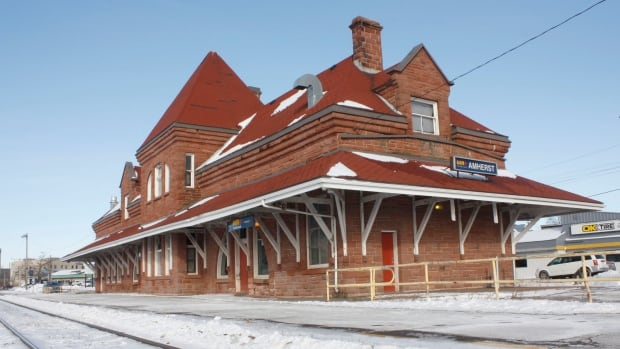 The Via Rail train station in Amherst, N.S., may be the site of two restaurants if a deal to sell the iconic heritage property finally goes through.